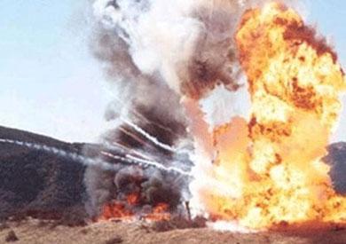 انفجار لغم بمدرعة شرطة في شمال سيناء