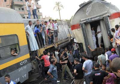 تعطل حركة قطارات خط الزقازيق – بورسعيد إثر اصطدام قطار بجرار زراعي – أرشيفية