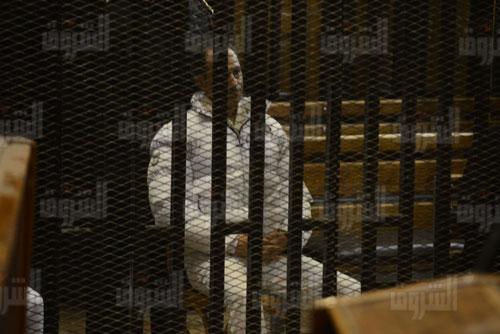 جمال مبارك داخل قفص الاتهام في جلسة اليوم - «خاص الشروق»