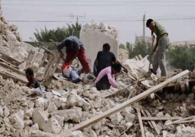 آثار زلزال أكتوبر 1992 بالقاهرة