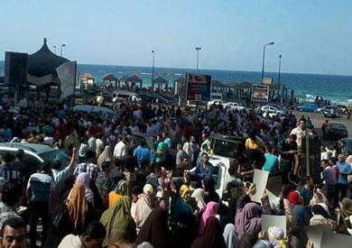 تظاهرات الإخوان الإسكندرية-ارشيفية