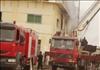السيطرة على حريق هائل بمصنع للمنسوجات في العاشر من رمضان – أرشيفية