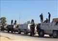 صورة أرشيفية لقوات الأمن في شمال سيناء