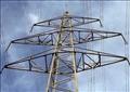 أحد أبراج الضغط العالي المحطمة-ارشيفية