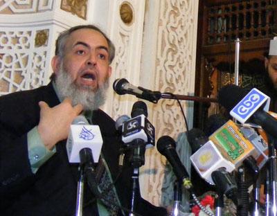 أبو إسماعيل أول مرشح رئاسي يحصل على 30 توقيعا من نواب مجلس الشعب