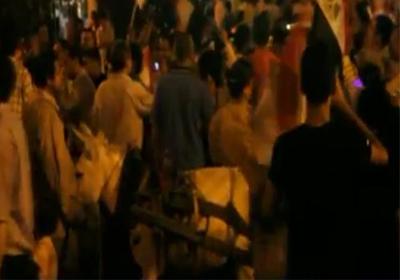 فيديو حمير في مظاهرات توفيق عكاشة