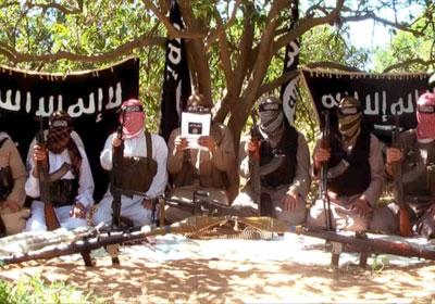 لقطة من فيديو مجلس شورى المجاهدين