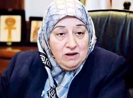 نجوى خليل، وزيرة الشئون الاجتماعية