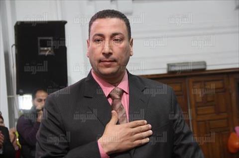محي الدين ابراهيم -نقيب الصيادلة الجديد تصوير هبه خليفة