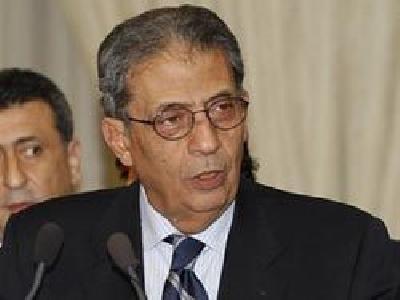 عمرو موسى، الأمين العام السابق لجامعة الدول العربية