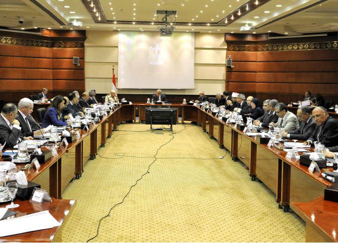 أرشيفية لاجتماع مجلس الوزراء