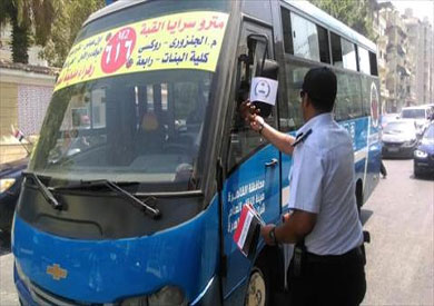 احتفال ضباط مديرية أمن القاهرة باحتفال قناة السويس وسط المواطنين