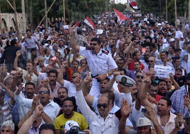 مشاركة رجال الداخلية في ثورة 30 يونيو - تصوير: أميرة مرتضي