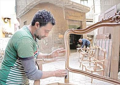 المناصرة ورش اثاث تصوير احمد عبد الجواد