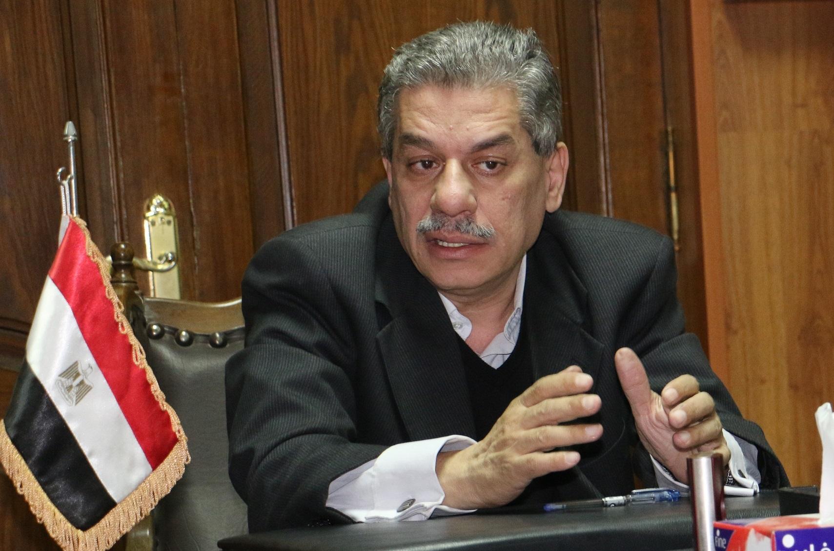 الدكتور أمين لطفي، رئيس جامعة بني سويف