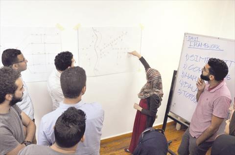 ورشة عمل لاعداد مشروع لمواصلة القاهرة