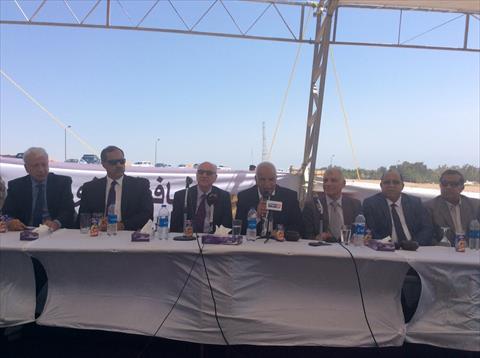 وزير النقل يدشن مشروع مارينا اليخوت العالمي بمدينة دهب