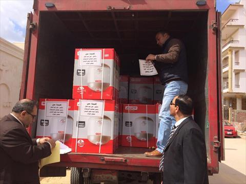 وصول وفد «حقوق إنسان النواب» إلى الإسماعيلية.. وتوزيع 50 سخانًا على الأسر إهداءً من «عبدالعال»