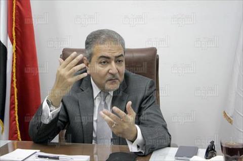 خالد العامري - نقيب الاطباء البيطريين تصوير احمد عبد الجواد