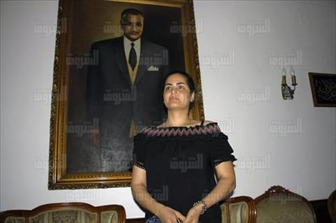 سما المصري من ضريح «عبد الناصر»: المكان مريح.. وثورة يوليو جعلت للفقير قيمة