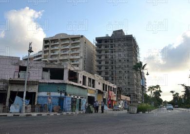 البناء العشوائي يهدد الاسكندرية
