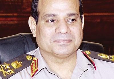 الفريق عبد الفتاح السيسي - وزير الدفاع