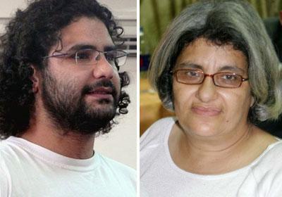 الدكتورة ليلى سويف والدة علاء عبدالفتاح