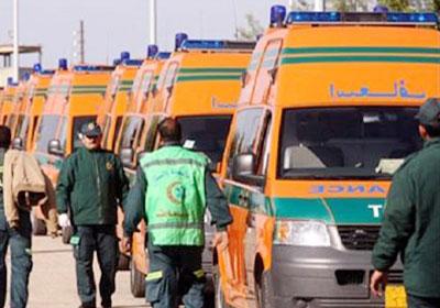 رئيس هيئة الإسعاف يقول إن مصر حققت 40% من المعايير العالمية لإنقاذ حياة المواطنين – أرشيفية