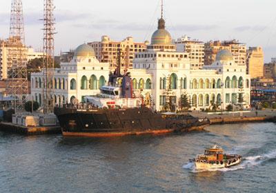 مبنى قناة السويس