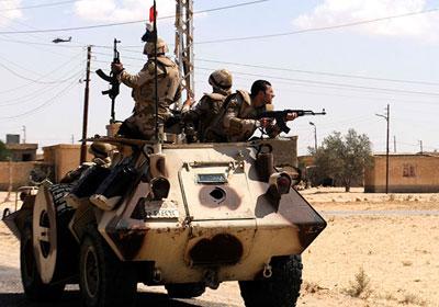 عناصر الجيش المصري في سيناء - أرشيفية
