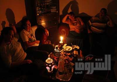 استمرار أزمة انقطاع التيار الكهربائى فى هذا الصيف - تصوير:  هبة خليفة