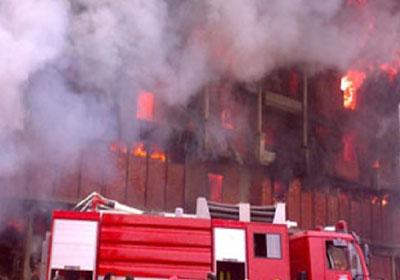 حريق مصنع شبرا الخيمة - أرشيفية