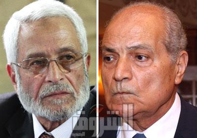 المستشار عادل عبد الحميد وزير العدل والمستشار حسام الغرياني رئيس مجلس القضاء الأعلي