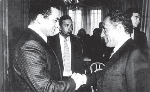 هيكل يكشف أسرار لقاءه مبارك