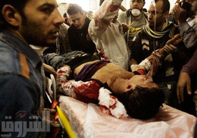 المستشفي الميداني يبذل جهداً خارقاً لإنقاذ المصابين