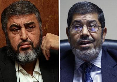 محمد مرسي وخيرت الشاطر