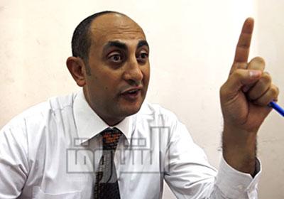 خالد علي المحامي الحقوقي، والمرشح السابق لرئاسة الجمهورية