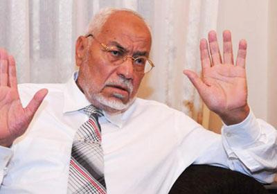 مهدي عاكف المرشد السابق لجماعة الإخوان المسلمين