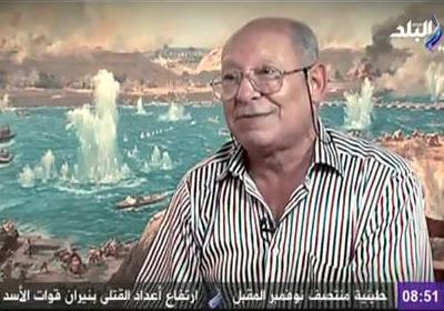 اللواء بحري- ماجد مصطفى، والذي شارك في سلاح البحرية أثناء حرب أكتوبر المجيدة