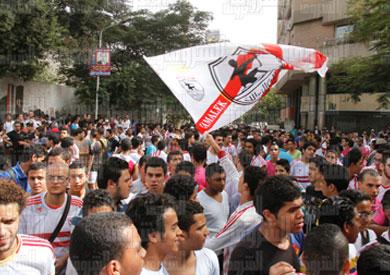 تكثيف التواجد الأمني بمحيط نادي الزمالك تحسبًا لمظاهرات «الوايت نايتس»  ::  :: نسخة الموبايل