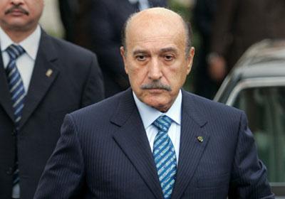 اللواء عمر سليمان نائب رئيس الجمهورية سابقًا