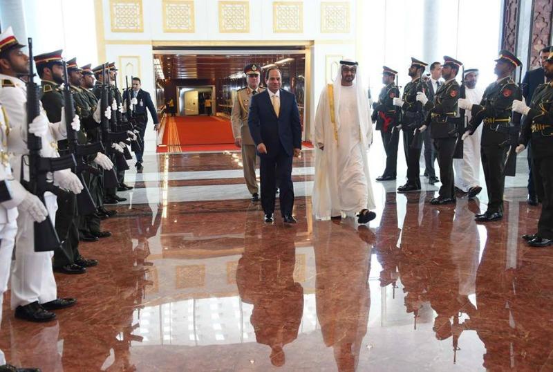 «السيسي» يصل أبو ظبي في زيارة رسمية تستغرق يومين