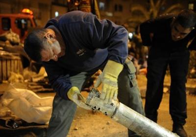 سقوط صاروخ بشمال سيناء وقوع