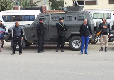 نقل 3 ضباط و8 أمناء بالسويس لأعمال إدارية بمحافظات أخرى
