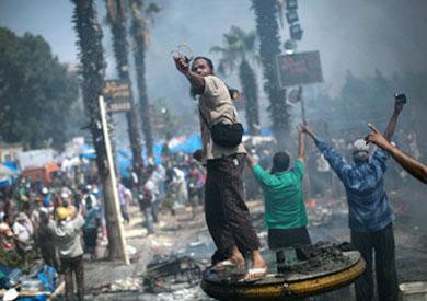 فض اعتصام رابعة العدوية - أرشيفية