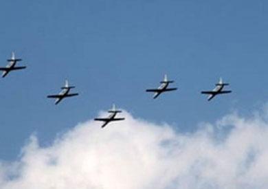 طائرات الجيش تقصف في سيناء