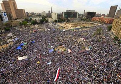 أرشيفية لميدان التحرير
