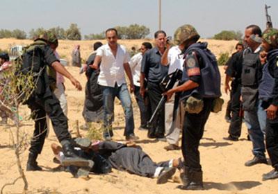 جانب من عمليات قوات الأمن لتطهير سيناء من البؤر الإرهابية ـ صورة أرشيفية