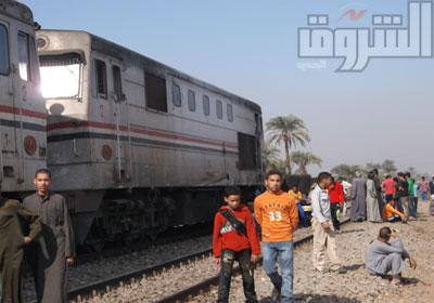 حادث قطار طنطا