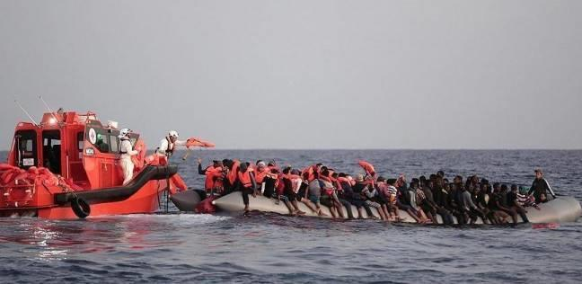 خفر السواحل الإيطالي: إنقاذ 1100 مهاجر غير شرعي بينهم امرأة وضعت طفلها في البحر
